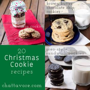 If you're looking for some amazing cookies to make this Christmas, here are 20 Christmas cookie recipes you can make! | Chattavore.com