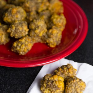 Sausage balls from scratch are a classic party favorite without the need for boxed mixes! | chattavore.com