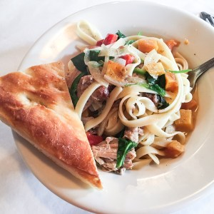 Café Roma is a Cleveland, Tennessee favorite, and after my braised pork shoulder dish...I understand why! | review from Chattavore.com