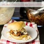Pressure Cooker Pork Shoulder & Dr. Pepper BBQ Sauce