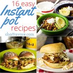 Easy Instant Pot Recipes for Back to School