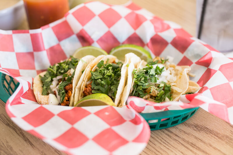 """Taco Town in Hixson, Tennessee is definitely a """"dive"""", but it's clean and friendly and the tacos that they serve are so good you really don't care anyway.   restaurant review from Chattavore.com"""