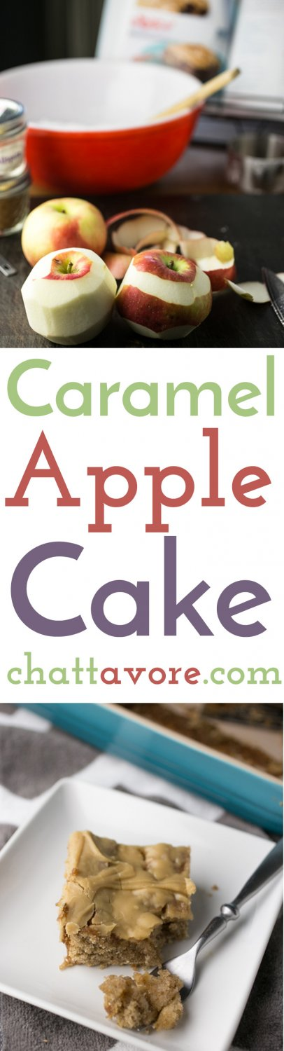 Mama Reed's Caramel Apple Cake is a recipe from Christy Jordan's latest cookbook, Sweetness, and it encompasses everything I love about Christy and her blog. | recipe on Chattavore.com