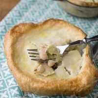 This vegetable pot pie is just as hearty as a meat-based pot pie, and it will warm you from the inside out. It's perfect cold weather comfort food! | recipe from Chattavore.com