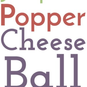 This jalapeño popper cheese ball is a delicious party snack that's a little bit kitschy, a lot delicious, and sure to be a crowd pleaser! | recipe from Chattavore.com