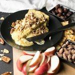 Baked Brie with Pecans and Honey Mustard
