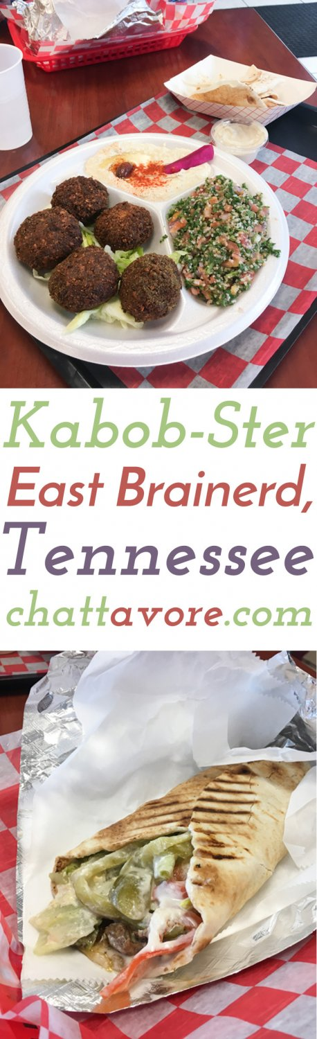 Kabob-ster is a quick service Middle Eastern/Mediterranean restaurant in East Brainerd, Tennessee, near Hamilton Place Mall. | Restaurant review from Chattavore.com