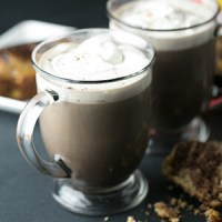 Folgers Coffeehouse Blend makes coffeehouse style drinks like this Mexican hot chocolate mocha so quick and simple to whip up! #shop #cbias #coffeehouseblend #ad | recipe from Chattavore.com