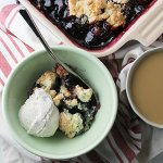 One-Bowl Easy Cherry Cobbler