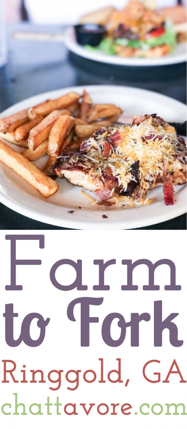 Farm to Fork is a popular restaurant in Ringgold, Georgia that serves fresh, homemade, Southern-style food in a friendly environment.   Restaurant review from Chattavore.com