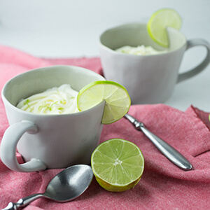 This easy mug cake with lime is topped with a decadent cream cheese icing and comes together with less than ten minutes of actual work!   Recipe from Chattavore.com