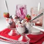 No-Churn Red, White, and Blue Ice Cream + Video