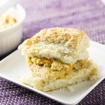 Chicken Biscuit with Honey-Peach Butter + Video