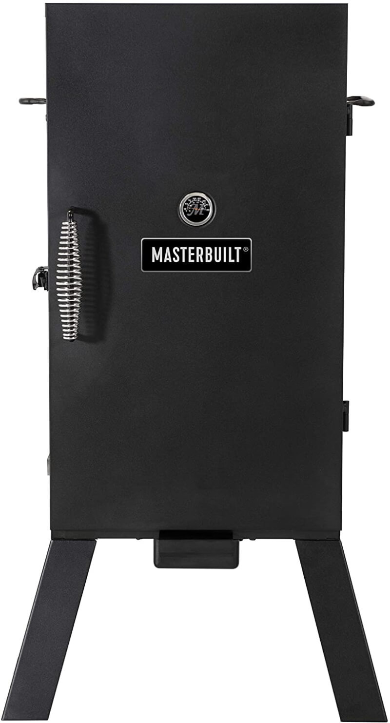 a photograph of a Masterbuilt electric smoker