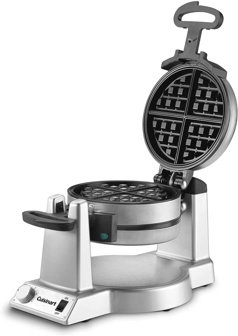 a photograph of a Cuisinart waffle iron
