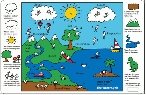 small resolution of label the water cycle diagram check your answers in the diagram below