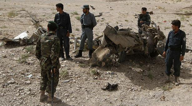 আফগানিস্তানে সরকারি বিমান হামলায় নিহত ৪৫