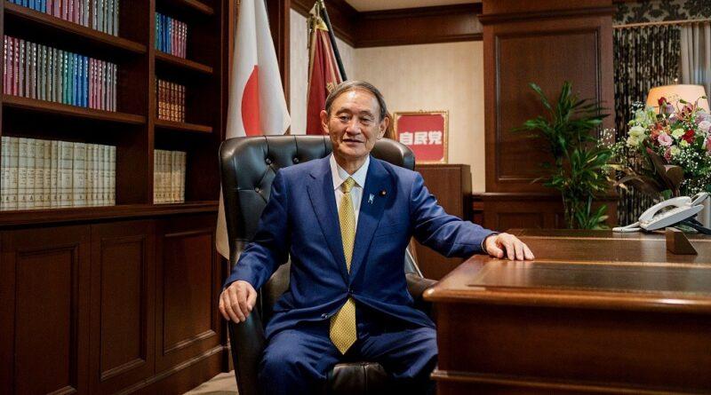 জাপানের নতুন প্রধানমন্ত্রী ইশিহিডি সোগা