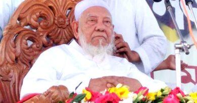 হাটহাজারী মাদরাসা চত্বরে আল্লামা আহমদ শফীর মরদেহ
