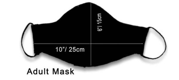 Cotton Mask Bandhani Beige 5 https://chaturango.com/handmade-cotton-mask-bandhani-beige/