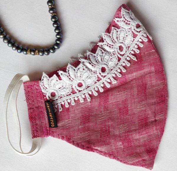 Cotton Mask Lace Pink 1 https://chaturango.com/handmade-cotton-mask-lacework-pink/