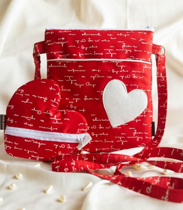 Handbag Heart Embossed Red White Text 1 https://chaturango.com/heart-embossed-fabric-crossbody-bag-navy-blue/