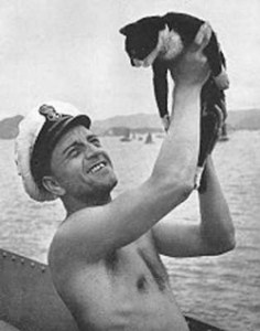 Ein Held der Seeleute: Kater Sam oder Oskar, wie ihn die Nazis nannten.