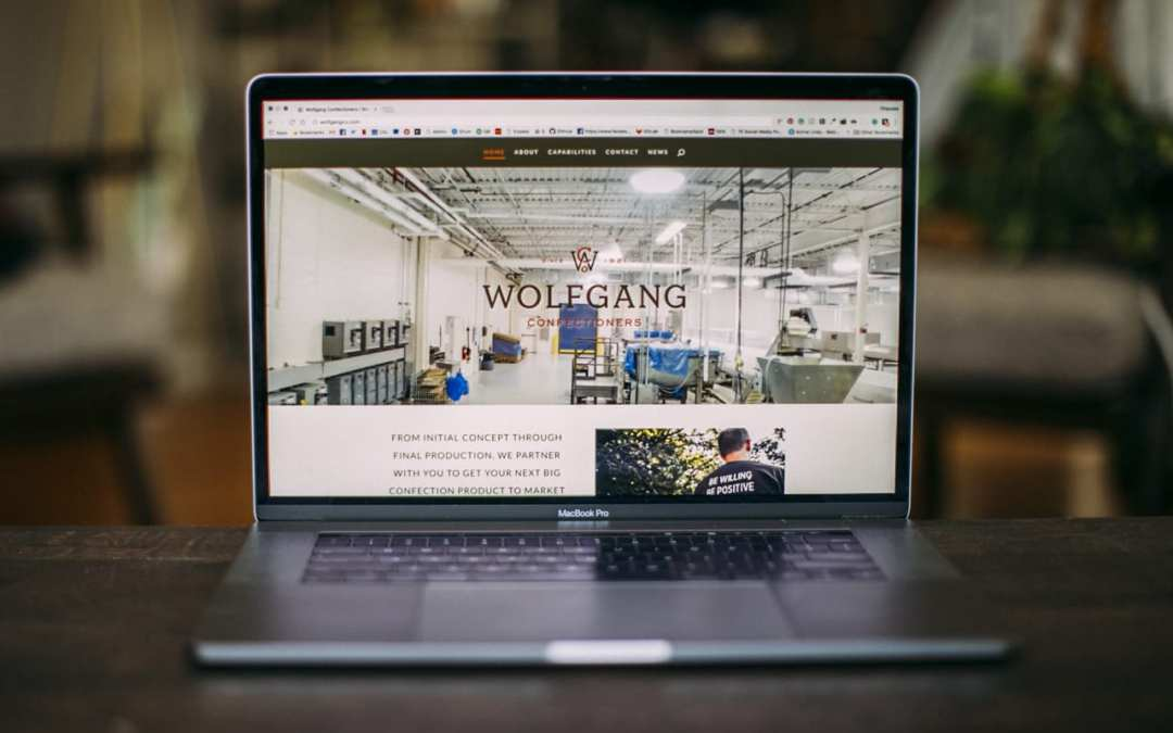 Client Website: Wolfgang Confectioners
