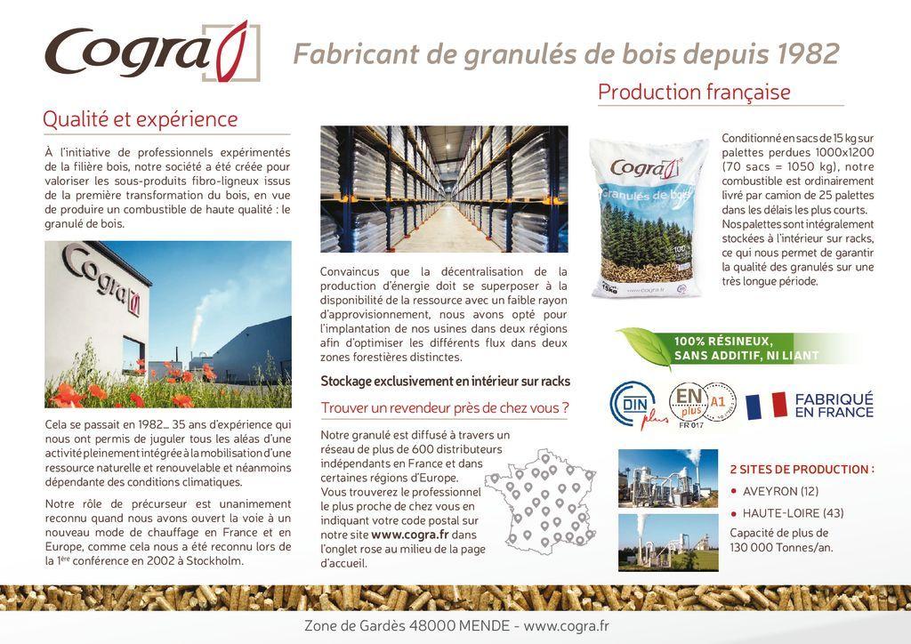 Chauffe Granules - Granulés de bois 100 % naturel