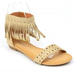 sandales-plates-aspect-daim-beige-franges-cloutees-or-laosa-femmes-petites-pointures