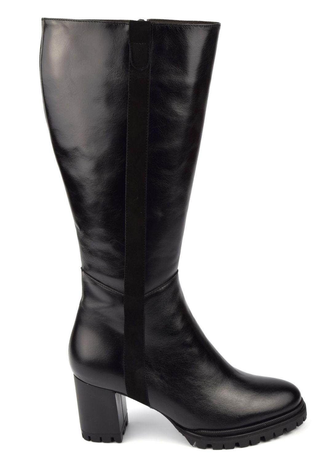 bottes mollets larges femme petits pieds