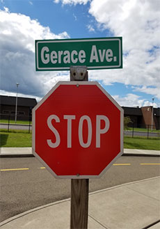 Gerace Ave.