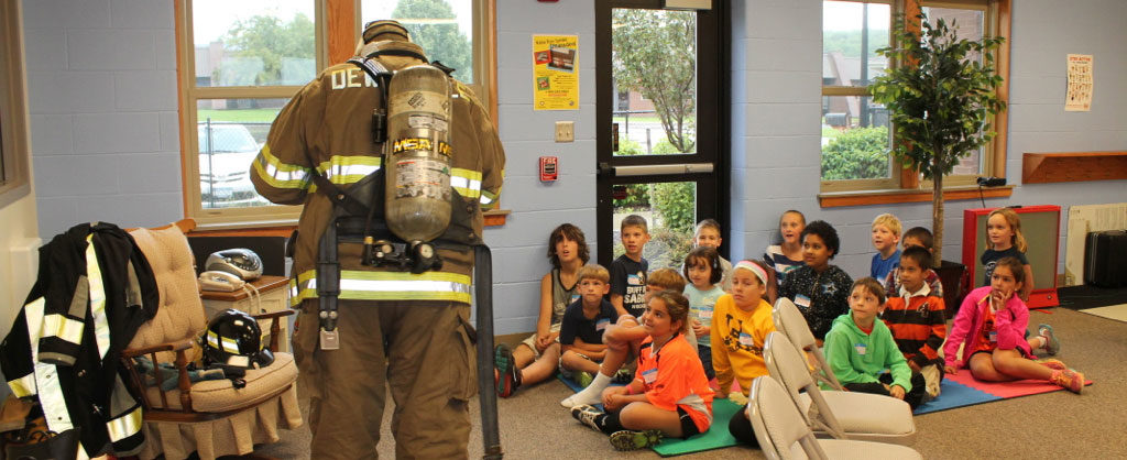Fire Safety Class at the Children's Safety Village