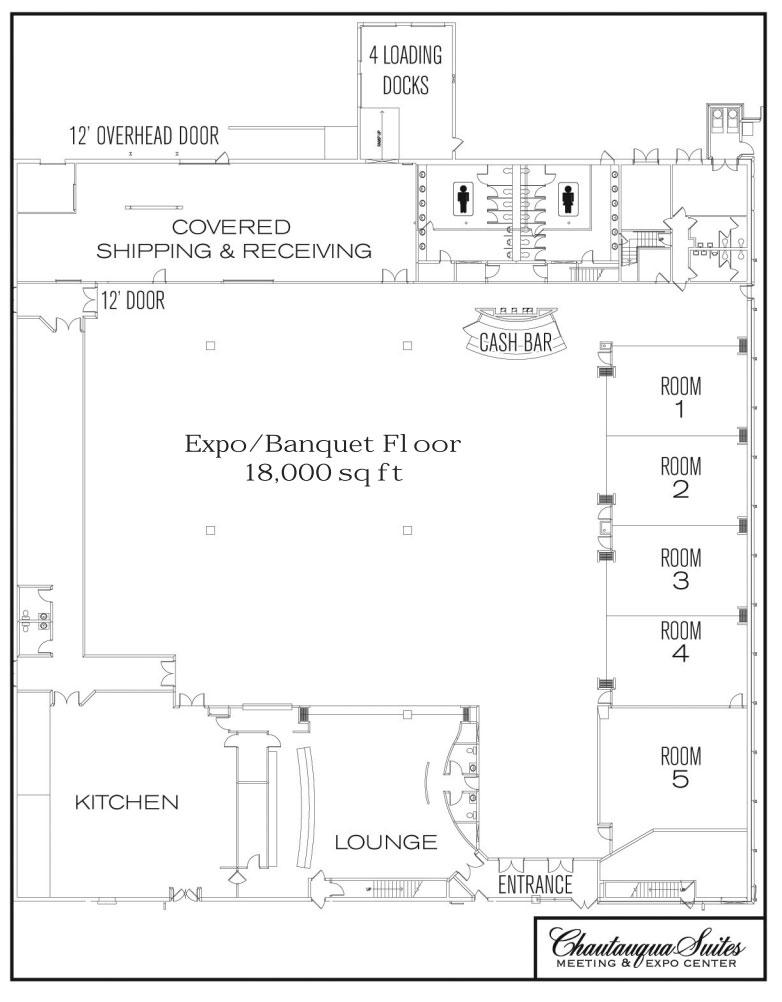 Chautauqua Suites Expo Center Floor Plan