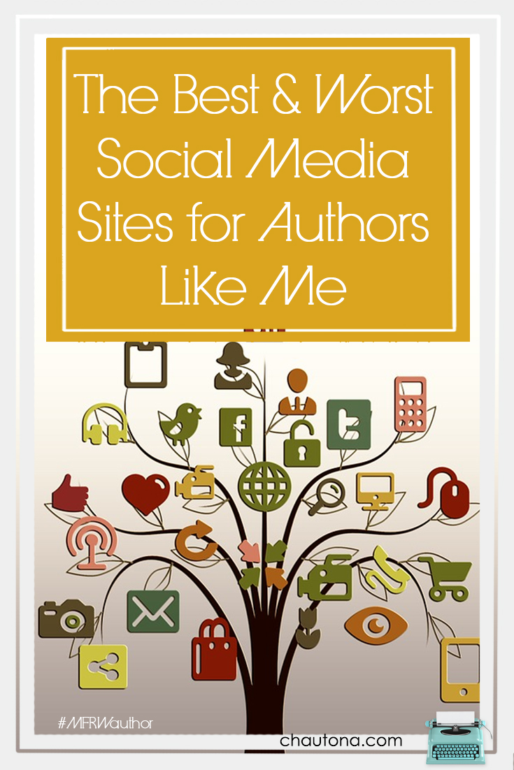 The Best and Worst Social Media Sites for Authors Like Me