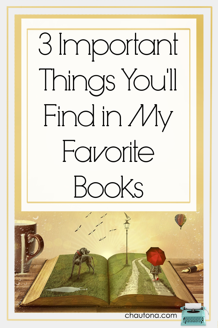 All readers have something they look for in books. Unpredictability? Growth? Adventure?  Suspense?  It's different for every person. In this post, I share mine.