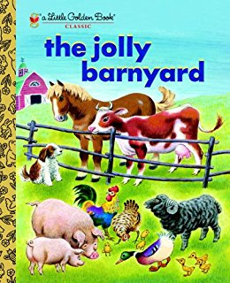 The Jolly Farmyard- little golden books