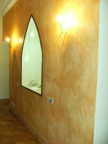 Mur apres badigeons de chaux par chaux room 1
