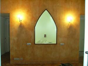 Mur après badigeons de chaux par chaux room 2