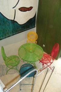 Mobilier coloré par chaux room