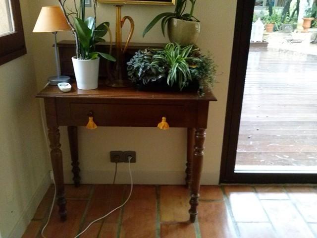 Petit meuble avant patine et faux marbre chaux room