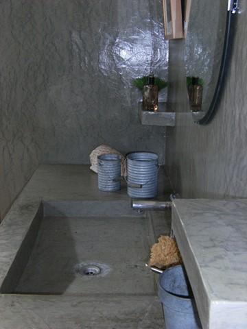 cheap salle de bain enduit bton cire chaux room with enduit salle de bain