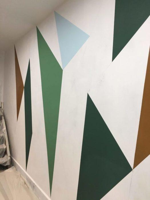 Décor peint Chaux Room