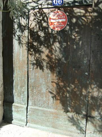 Une patine a était réalisée sur les boiseries