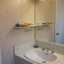 Salle de bain année 70 avant réagencement