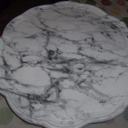 Faux marbre blanc veiné chaux room