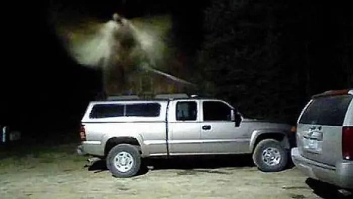Recentemente uma comunidade localizada no norte de Michigan relatou ter sido visitada ou tocada por um anjo.