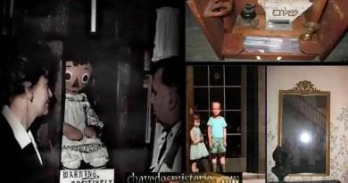 Os 4 objetos misteriosos e mais amaldiçoados do mundo.