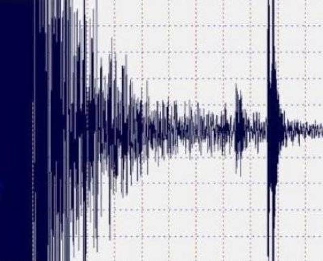 Um terremoto de magnitude