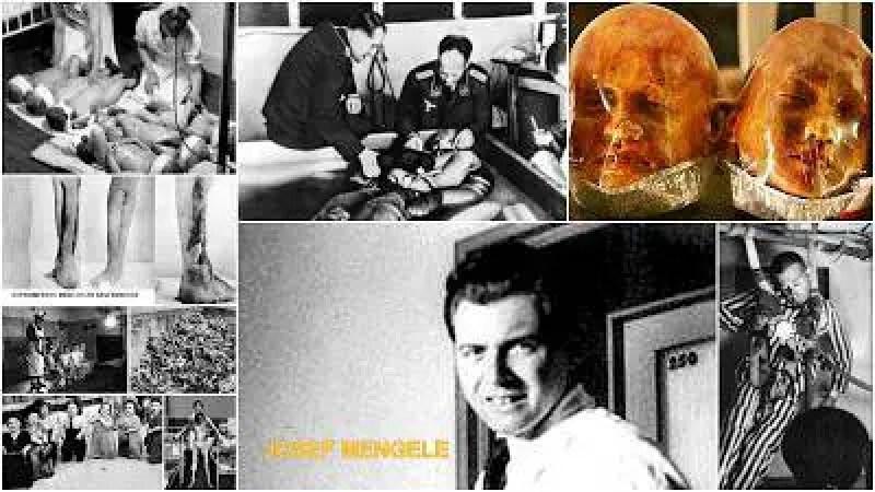 Mengele EXPERIMENTOS NAZIS